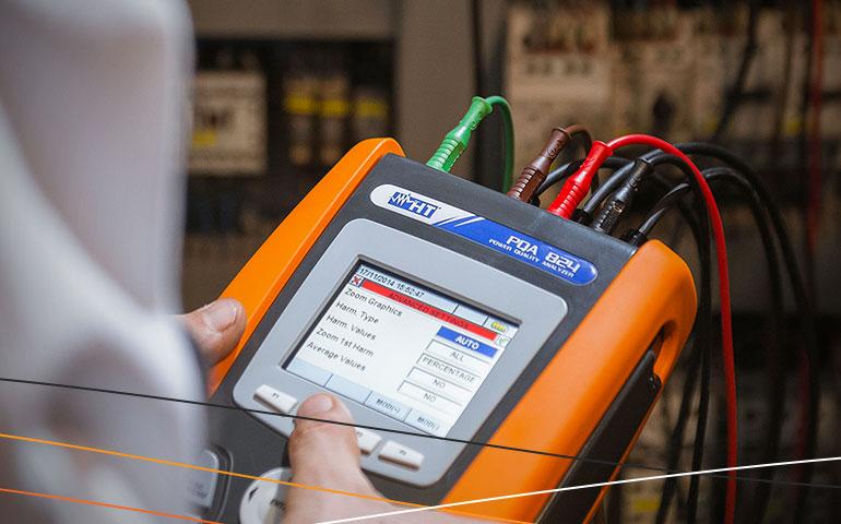 Eficiência energética com instrumento de medição HT Instruments