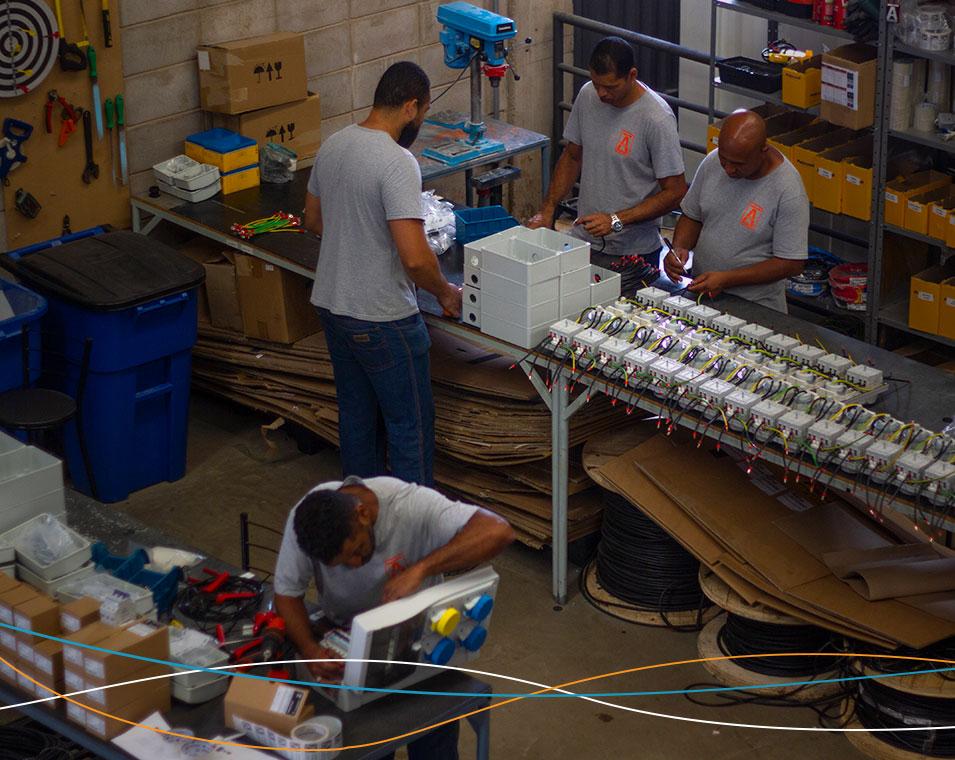 Elétrica industrial – Amperi Soluções Industriais